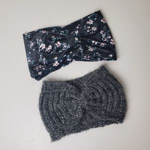 H&M bundle of 2 winter headbands